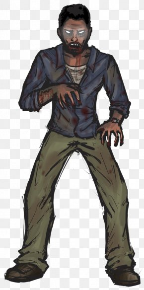 Morals - The Walking Dead: A New Frontier Lee Everett Clementine Drawing PNG