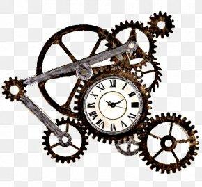Clock - Mantel Clock Table Decorative Arts Gear PNG