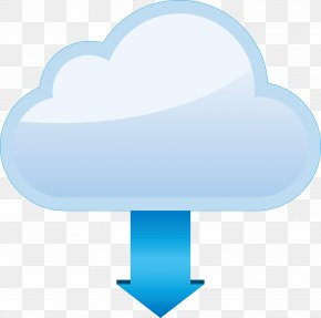 Vector Cloud Download Data Diagram - Data Download Euclidean Vector PNG