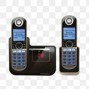 Cordless Telephone - Digital Enhanced Cordless Telecommunications Cordless Telephone Handset Mobile Phones PNG