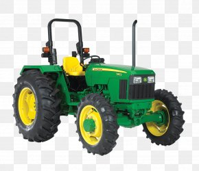 John Deere Transparent Images - John Deere Tractor Agriculture Agricultural Machinery PNG