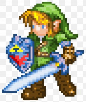 8 BIT - The Legend Of Zelda: Ocarina Of Time 3D Link Pixel Art Video Game PNG