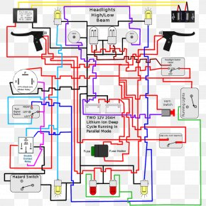 Light - Wiring Diagram Light Electrical Wires & Cable Signal PNG