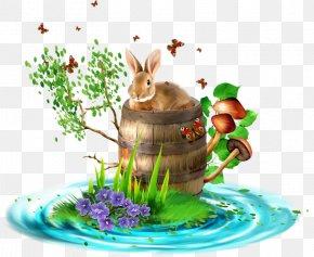 Bunny - Blog Clip Art PNG