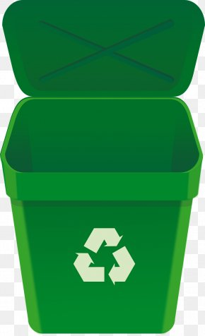 Recycling Boy Cliparts - Recycling Bin Waste Container Clip Art PNG