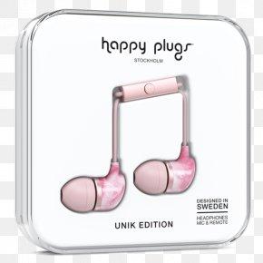 Ear Plug - Happy Plugs Earbud Plus Headphone Headphones Happy Plugs In-Ear Microphone PNG