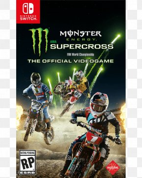 The Official Videogame Monster Energy NASCAR Cup SeriesMotocross - Nintendo Switch Monster Energy AMA Supercross An FIM World Championship Monster Energy Supercross PNG
