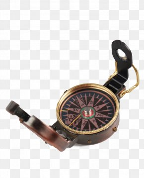 Retro Compass - Compass Luopan Feng Shui PNG