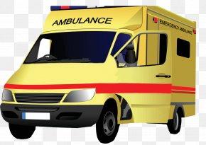 Ambulance - Ambulance Vehicle Clip Art PNG