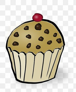 Muffin - English Muffin Cupcake Donuts Frosting & Icing PNG