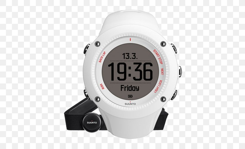 Running Heart Rate Monitor GPS Watch, PNG, 500x500px, Running, Brand, Dive Computer, Gps Watch, Hardware Download Free