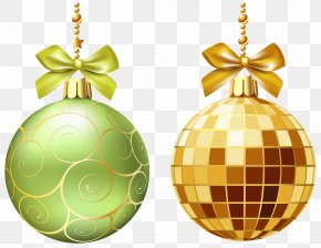 Christmas Balls Transparent Clip Art Image - Christmas Ornament Clip Art PNG