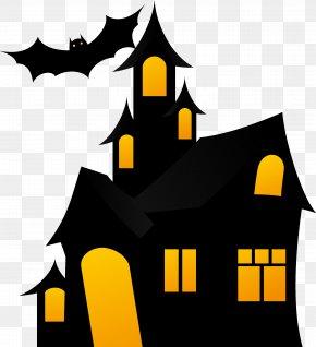 Halloween - Clip Art Halloween Haunted Attraction Haunted House PNG