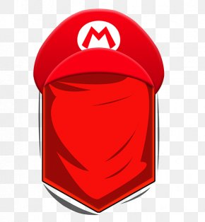 Super Mario Bros - Headgear Cap Hat Personal Protective Equipment PNG