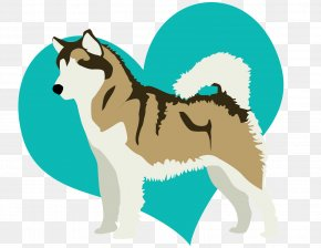 Puppy - Puppy Dog Breed Siberian Husky Drawing Dogs Bark PNG