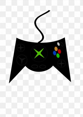 Xbox - Xbox 360 Controller Xbox One Controller Game Controllers Clip Art PNG
