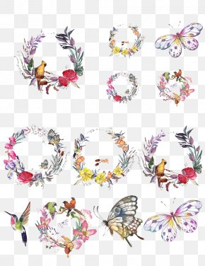 Garland Collection - Wreath Garland Flower PNG