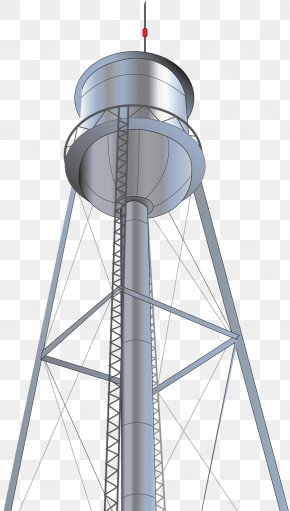 String Light - Water Tower Clip Art PNG