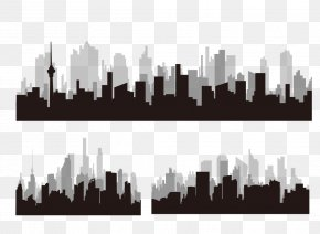 City Silhouette - Silhouette Architecture City PNG