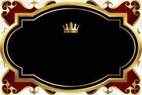 Hand Painted Gold Crown Card - Crown Computer File PNG