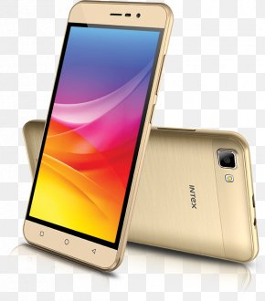 Champagne Smartphone Intex Aqua A4 Android Intex Smart WorldTelephone Intex - Intex Aqua Air PNG