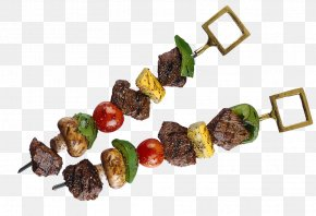 Two Strings Of Meat Pictures - Shish Kebab Doner Kebab Turkish Cuisine Barbecue PNG