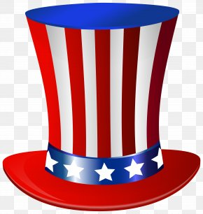 Uncle Sam Hat Clip Art Image - Uncle Sam United States Of America Hat Clip Art PNG