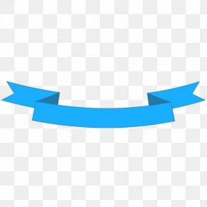 Ribbon - Blue Ribbon Banner Clip Art PNG