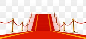 Red Carpet Stairs - Red Carpet Red Carpet Clip Art PNG