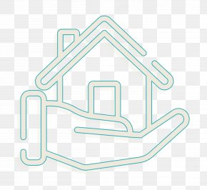 Signage Neon - House Icon Real Estate Icon PNG
