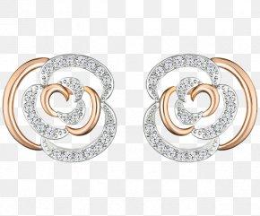 Swarovski Jewelry Flower,earring - Earring Swarovski AG Jewellery Necklace Bracelet PNG