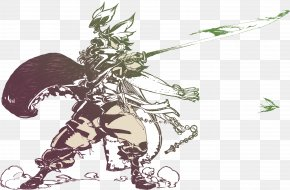 Samurai - Japan Download Painting Illustration PNG