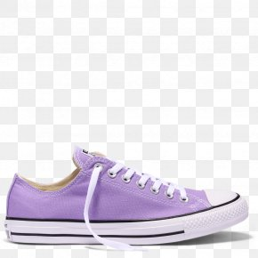 Lilac - Chuck Taylor All-Stars Converse Shoe Sneakers Tube Top PNG