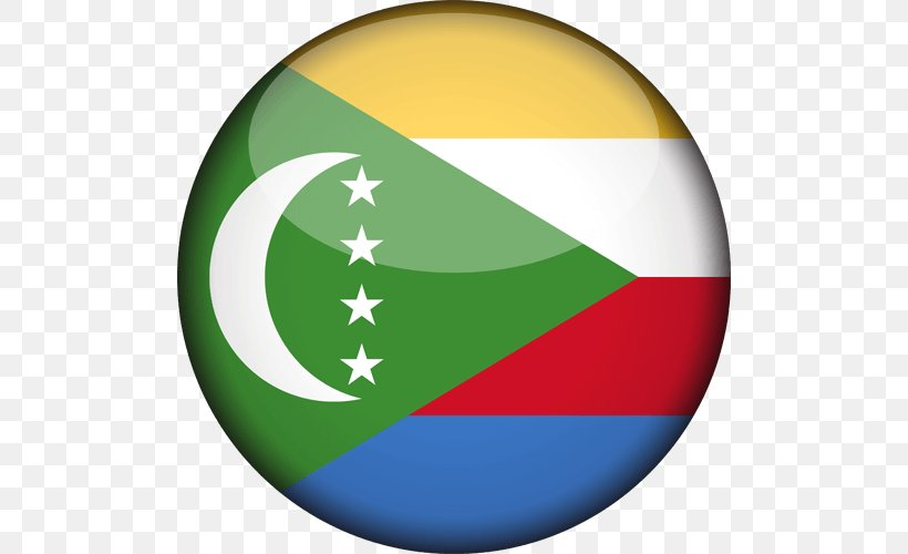 Flag Of The Comoros Gallery Of Sovereign State Flags National Flag, PNG, 500x500px, Flag Of The Comoros, Comoros, Flag, Flag Of Burkina Faso, Flag Of Cape Verde Download Free
