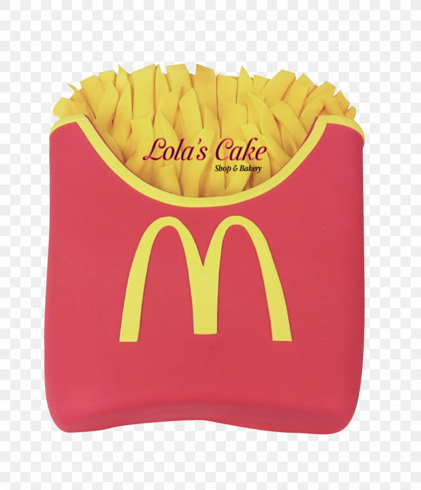Mcdonald S French Fries My Cake Cupcake Png 1126x1312px