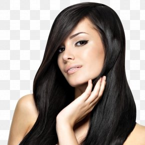 Women Hair - Beauty Parlour Hairstyle Artificial Hair Integrations Hair Straightening PNG