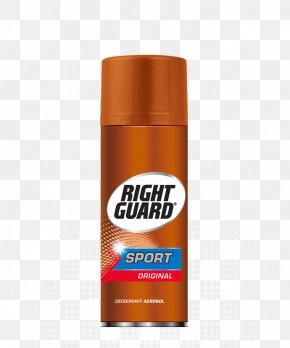 Right Guard Deodorant Aerosol Spray Gel Cream PNG