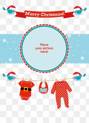 Christmas Baby - Santa Claus Christmas Infant Party PNG