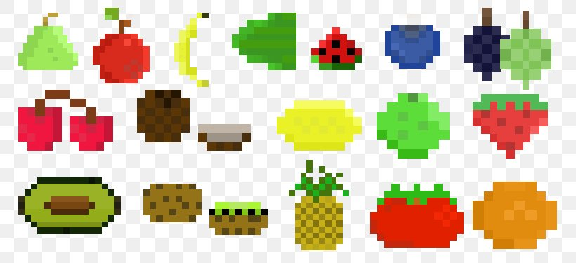 Pixel Art Fruit Png 800x375px 8bit Color Pixel Art Art Art Museum Deviantart Download Free