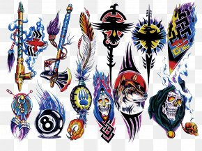 Arm Tattoo - Sleeve Tattoo Flash Color Tattoo Artist PNG