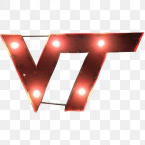 Virginia Tech Hokies Women's Basketball Logo Metal PNG
