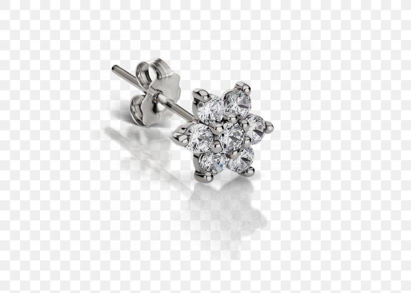 Earring Diamond Jewellery Nose Piercing Png 450x585px Earring