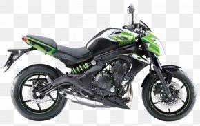 Kawasaki ER 6N Motorcycle Bike - Kawasaki Ninja 650R Kawasaki Motorcycles Kawasaki ER-6N Sport Bike PNG