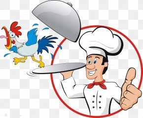 Chef Chicken Chicken - Chicken Chef Cook Illustration PNG