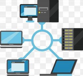 Enterprise Server Equipment - Server Computer Hardware Diagram Icon PNG