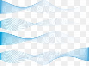 Vector Exquisite Blue Dynamic Lines Texture PNG