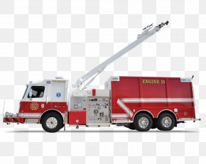 Car - Car Fire Department Public Utility Emergency Commercial Vehicle PNG