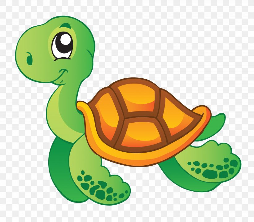Sea Turtle Aquatic Animal Clip Art, PNG, 4000x3500px, Turtle, Animal, Aquatic Animal, Fish, Fotolia Download Free