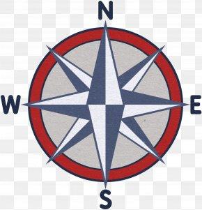 Compass - T-shirt Hoodie Neckline The Noun Project PNG