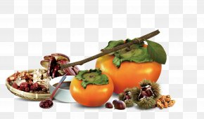 Persimmon - Autumn Poster Food Qiufen PNG